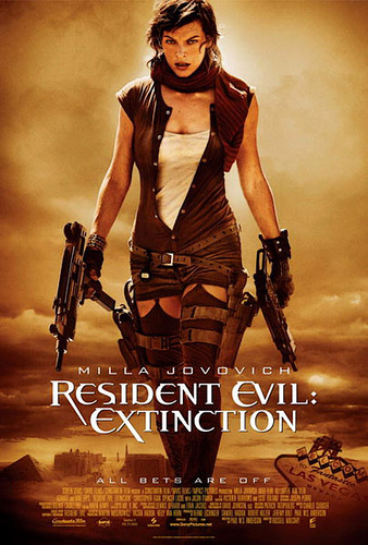 Resident Evil: Extinction, nuevo póster